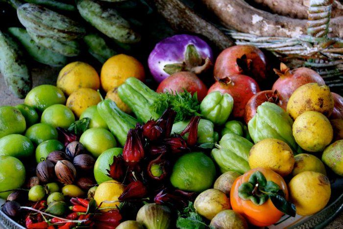 harvest fruit and stuff