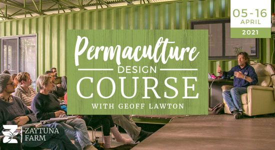 Permaculture design course with geoff lawton at zaytuna farm the home of the permaculutre research institute
