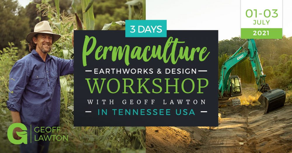 Permaculture workshop Tennessee with geoff lawton