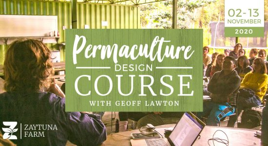 Permaculture design Course with Geoff Lawton 2020