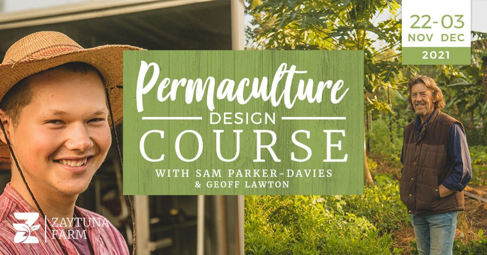 Permaculture Design Certificate Course At zaytuna farm With Sam Parker-Davies