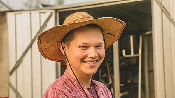 Sam Parker-Davies Permaculture Teacher at Zaytuna Farm